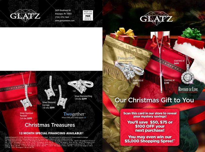 Glatz Jewelers - Holiday Catalog 2016