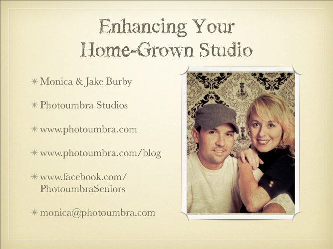 Enhancing Your Home Grown Studio [Webinar Slides]