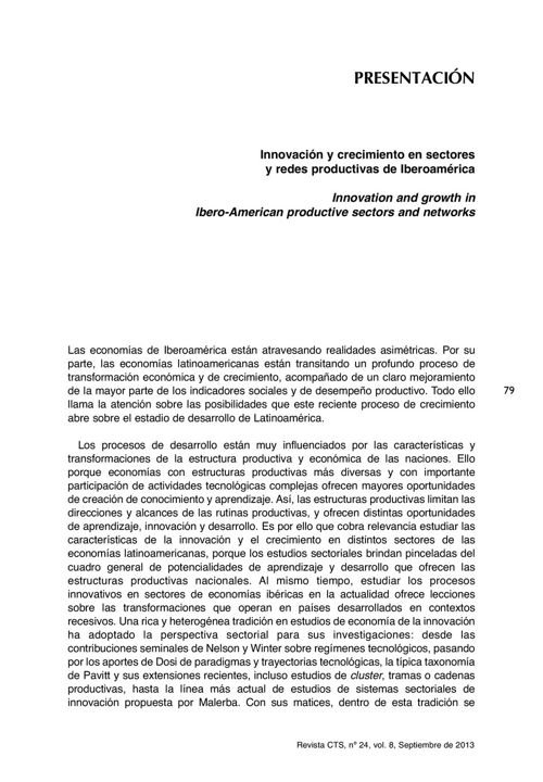 VOL09/N24 - Presentación