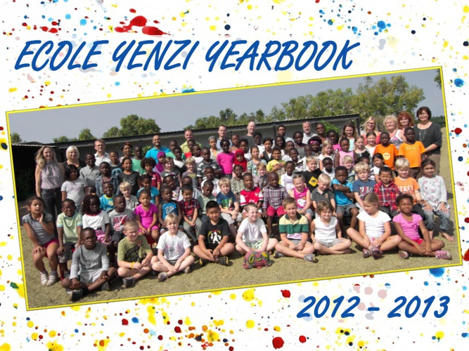 Ecole Yenzi Yearbook 2012-2013