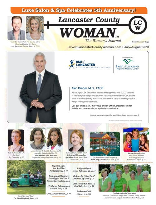 Lancaster County Woman July/August 2013