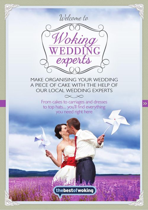 Woking Wedding Experts PDF A4 page turner brochure
