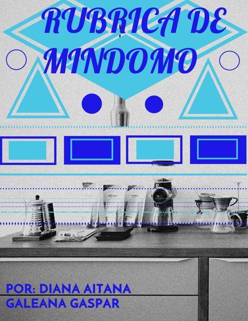 RÚBRICA DE MINDOMO