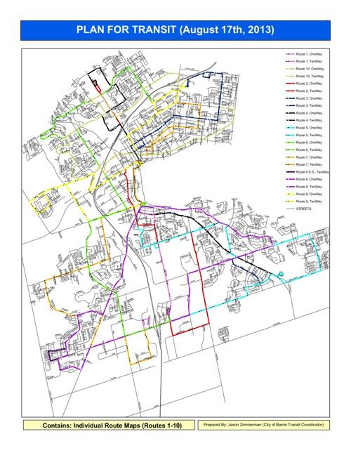 Plan For Transit (Aug./17th/13)