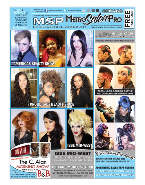 MetroSalonPro CHICAGO NewsMagazine Online 2013 I Promo Brochure