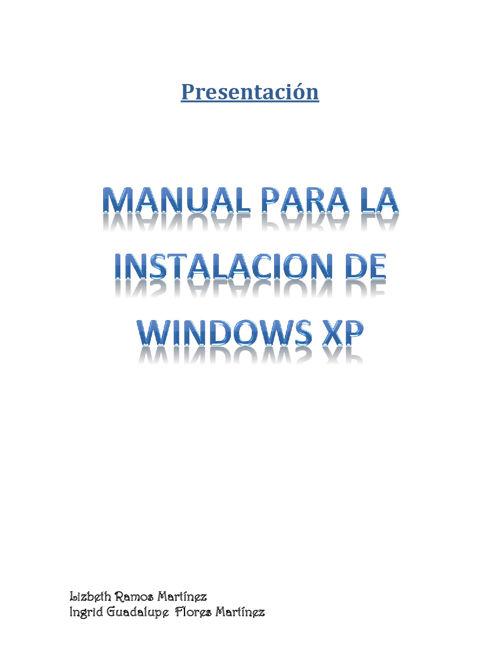 Instalación-de-Windows-Xp