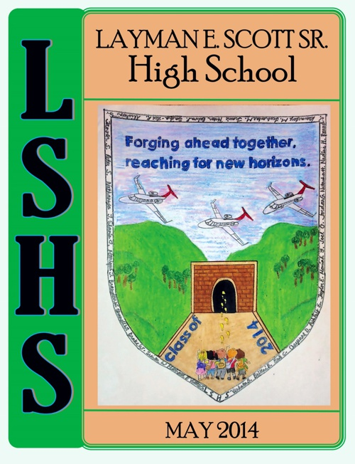 LSHS Yearbook 2014