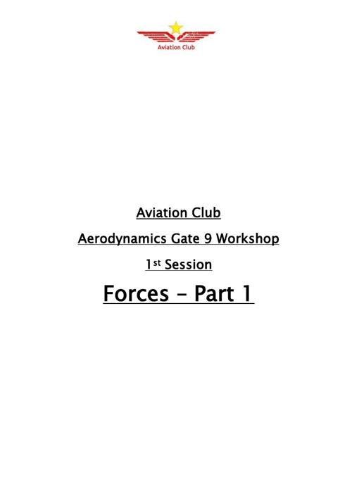 (2)Forces - Part 1
