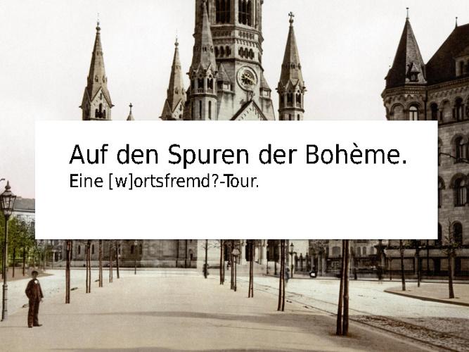 Auf den Spuren der literarischen Bohème in Berlin-Charlottenburg