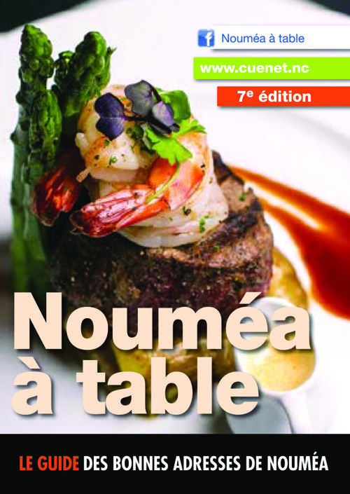 Guide Nouméa à table 2016