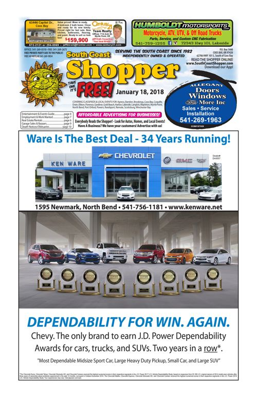 South Coast Shopper e-Edition 1-18-18