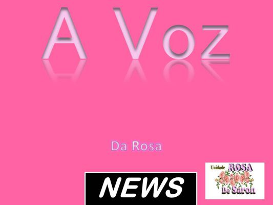 Jornal de Unidade rosa de Saron