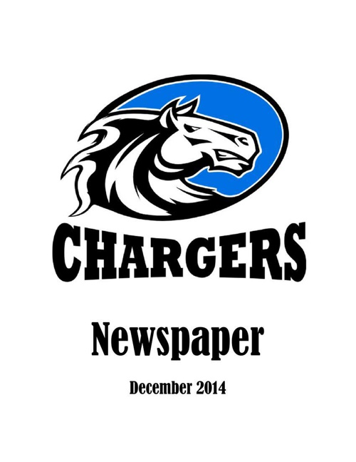 Chargers Newspaper December 2014