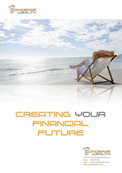 Creating Your Financial Future - Concierge Wealth