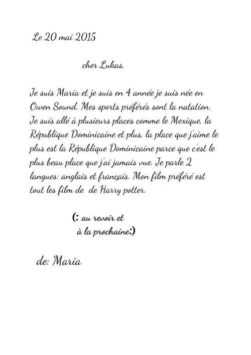 maria lettre a lukas