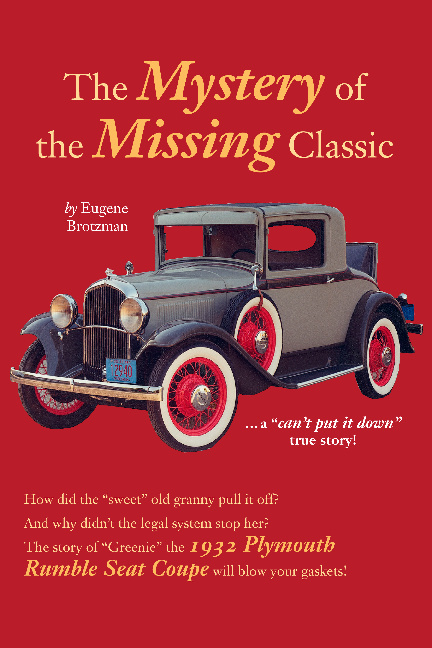 """""""The Mystery of the Missing Classic"""" by Eugene Brotzman"""