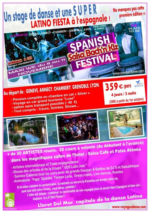 Spanish Salsa Bach'n Kiz festival