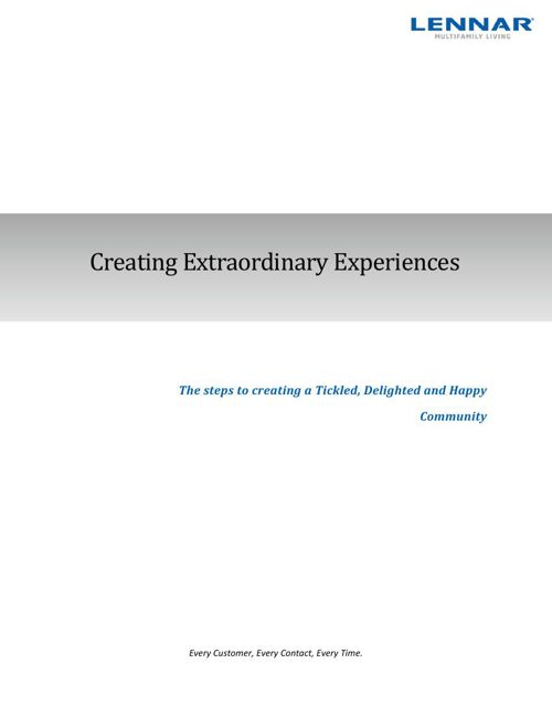 Extraordinary Experiences Guide