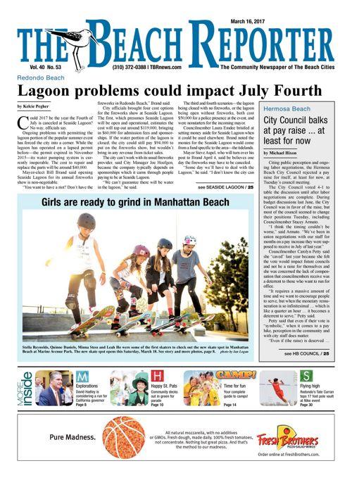 The Beach Reporter   March 16, 2017