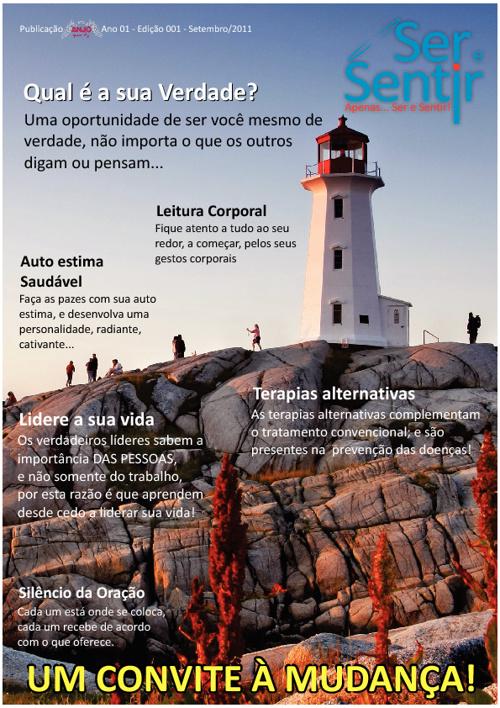Revista Ser e Sentir - Setembro 2011