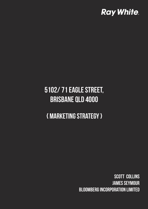 5102 Eagle Street  - Marketing Strategy