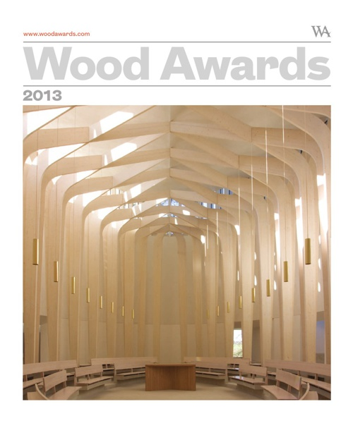 Wood Awards 2013 Winners magazine