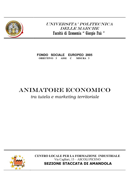 Animatore Economico estratto