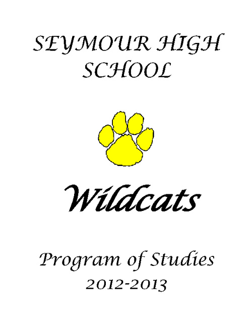 SHS Program of Studies