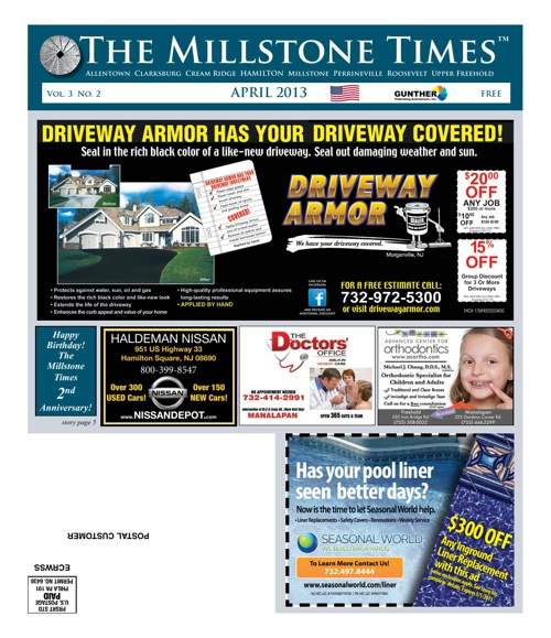 Millstone Times April 2013