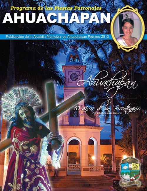 Revista Programa Ahuachapan 2013