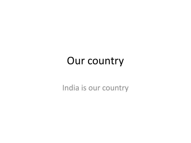 Our_country