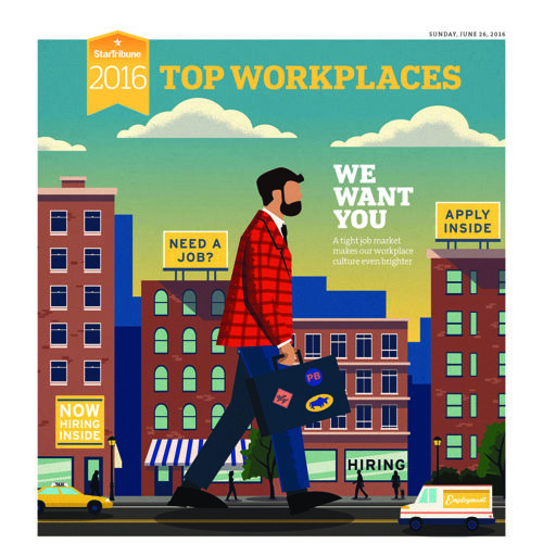 Top Workplaces - Summer, 2016