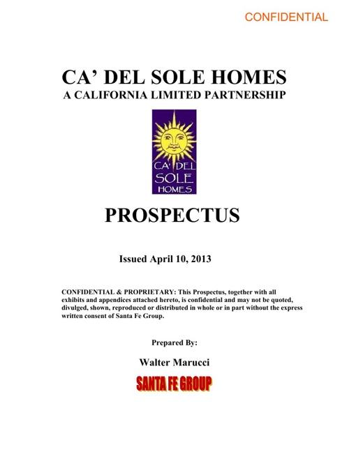 CDS Prospectus