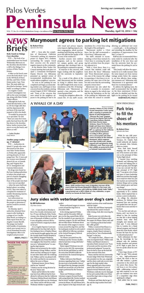 Peninsula News 4-10-14