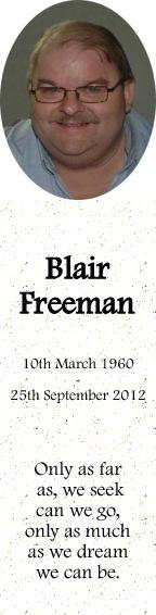 Blair Freeman