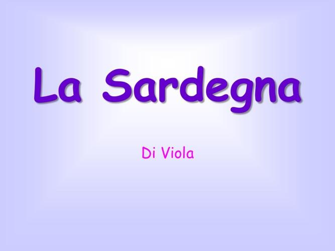 Sardegna Viola