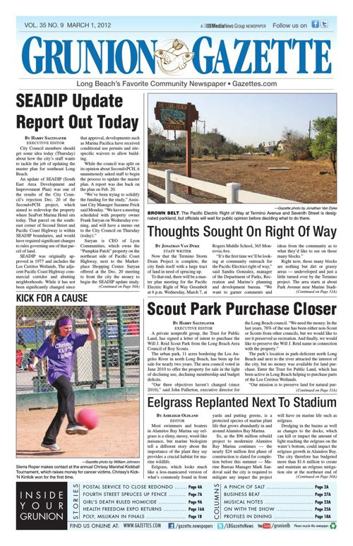 Grunion Gazette | March 1, 2012