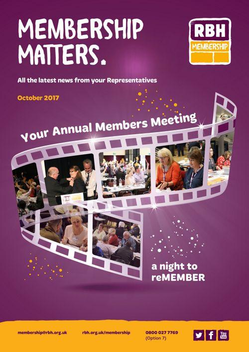 RBH Membership Matters - October 2017