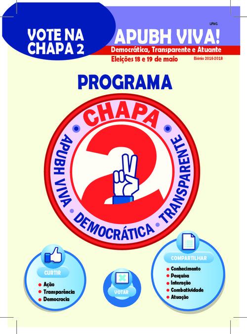 ProgramaChapa2APUBHViva2016