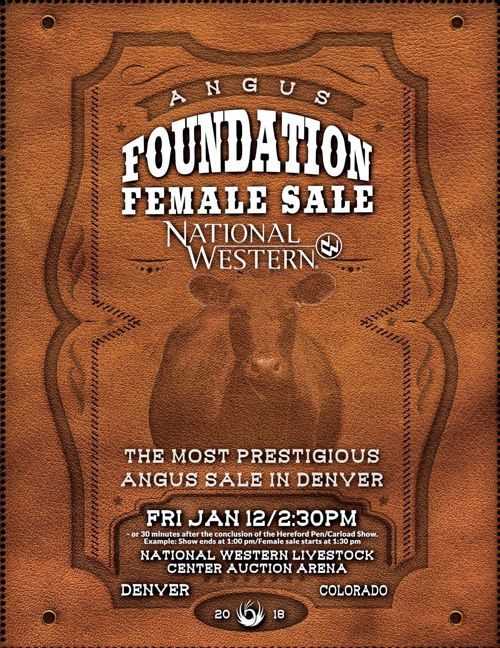 National Western Foundation Female Sale