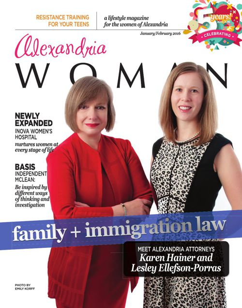 ALEXANDRIA WOMAN magazine - January/February 2016