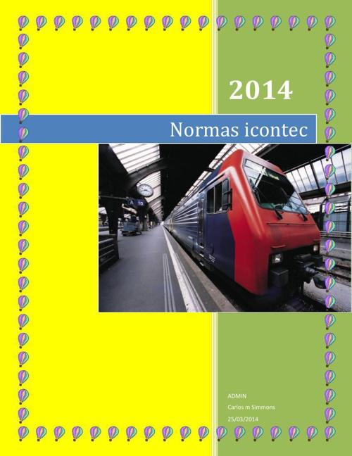 Normas icontec 321