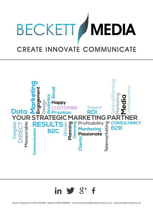 Beckett Media Company Brochure