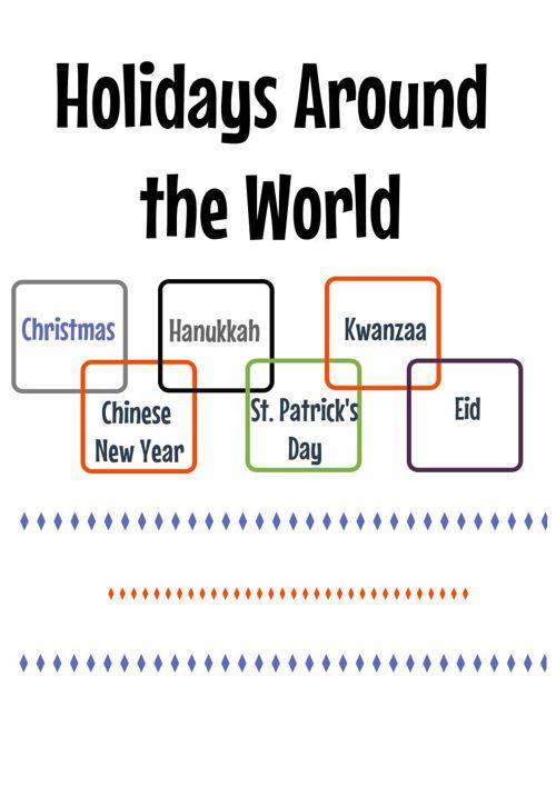 Holidays Around the World- Ridlehuber