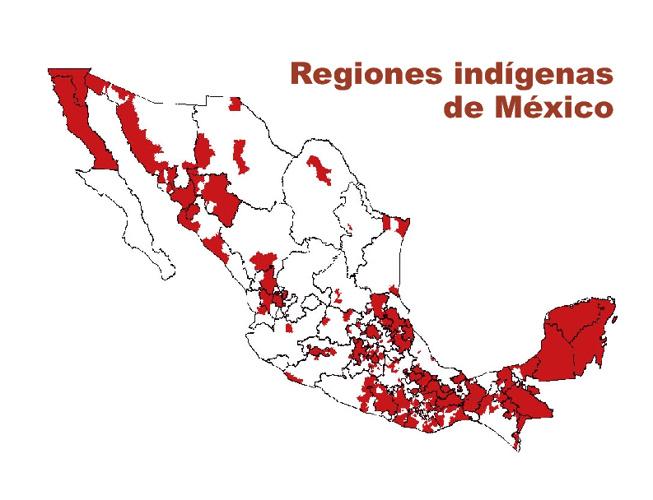 REGIONES INDIGENAS DE MEXICO