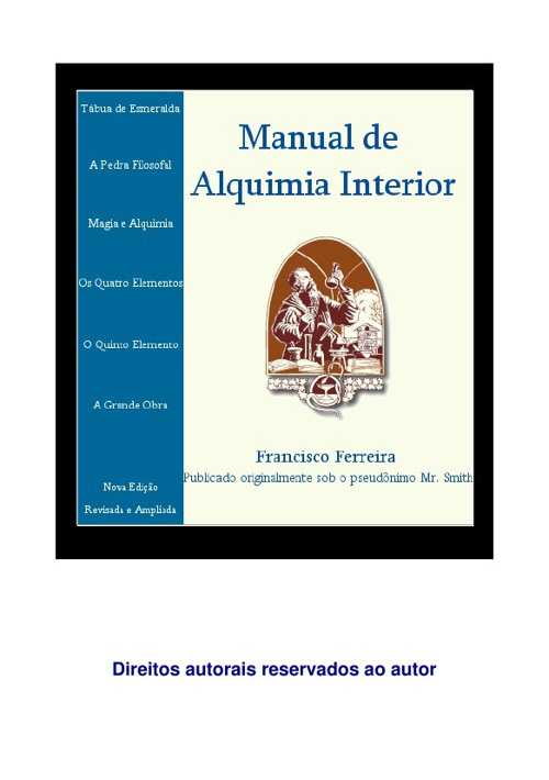 Manual de Alquimia Interior