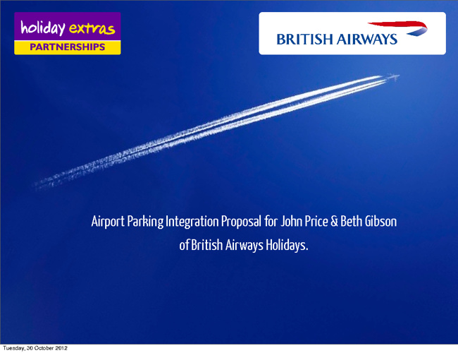 BA Airport Parking Integration Business Plan