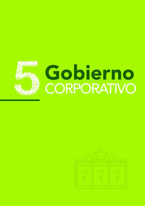 5. GOBIERNO CORPORATIVO