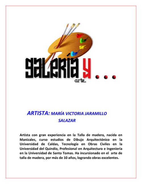 Galeria y Arte María Victoria Jaramillo Salazar