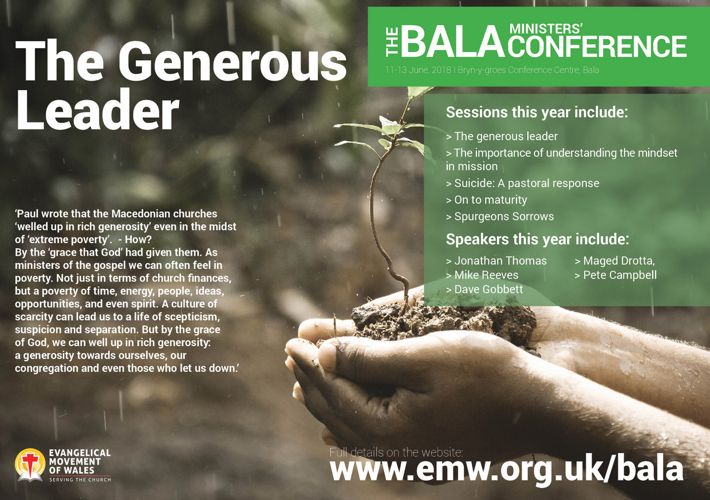 The Bala Conference 2018 flyer